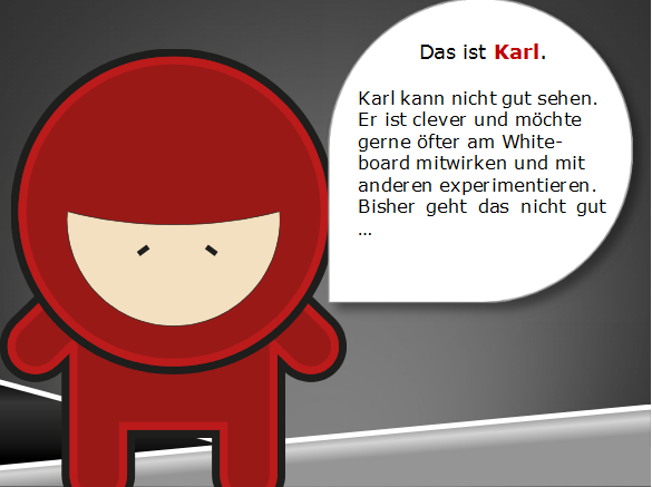 Lrrrnja Story: Karl (Schulkontext User Story)